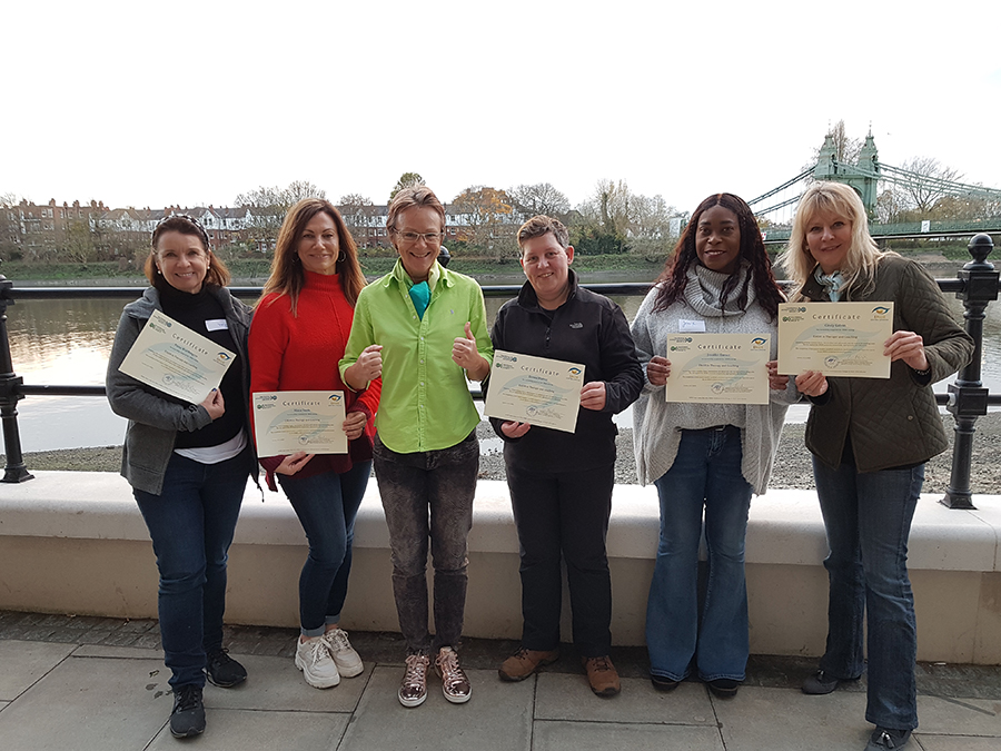 Certified woman power on 22th November 2020 in London